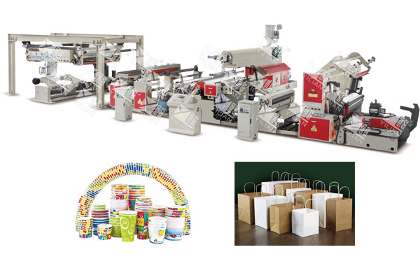 WSFM1100-2000C automatic Extrusion Coating And Laminating Machine